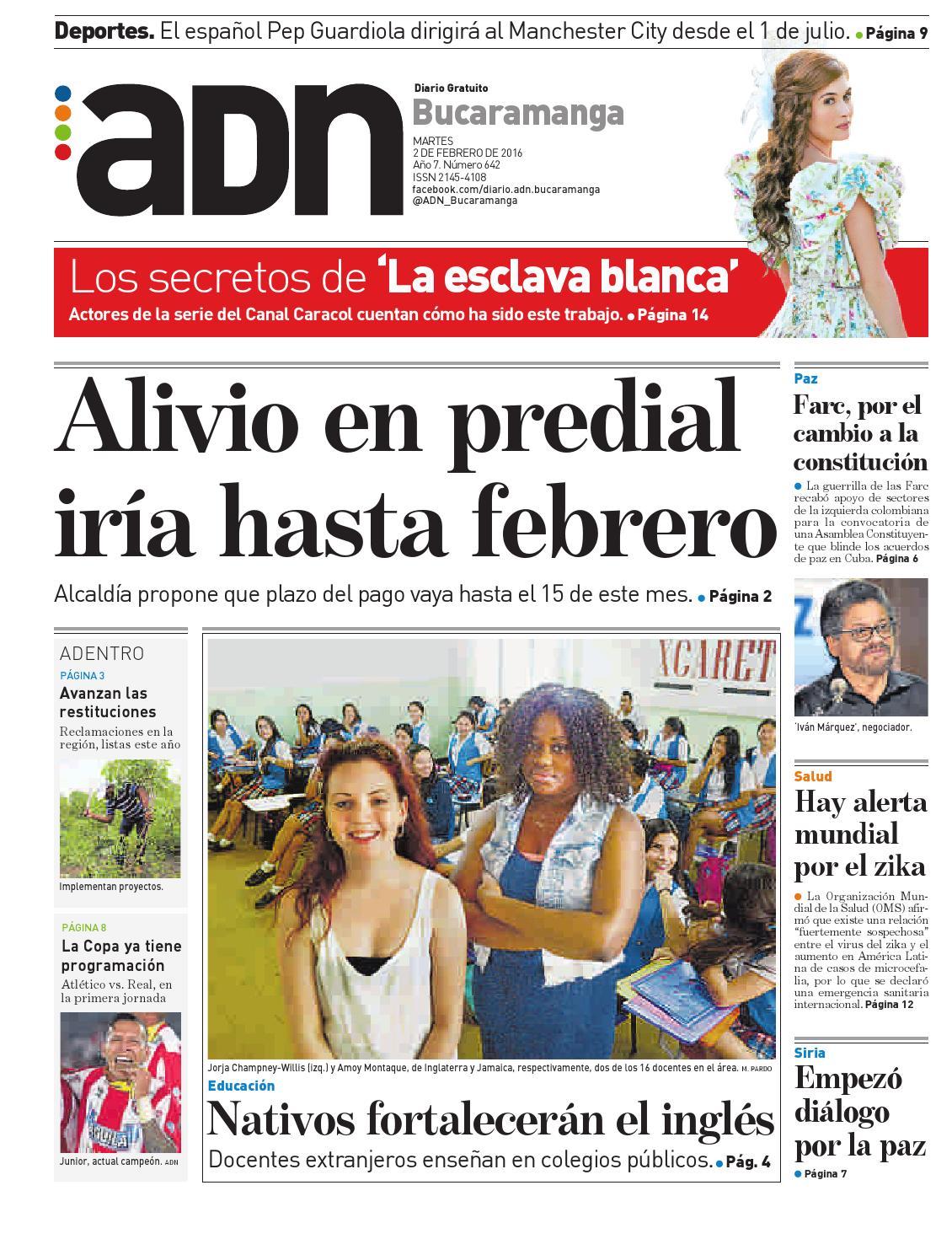 ADN Bucaramanga 2 de febrero by diarioadn.co - issuu