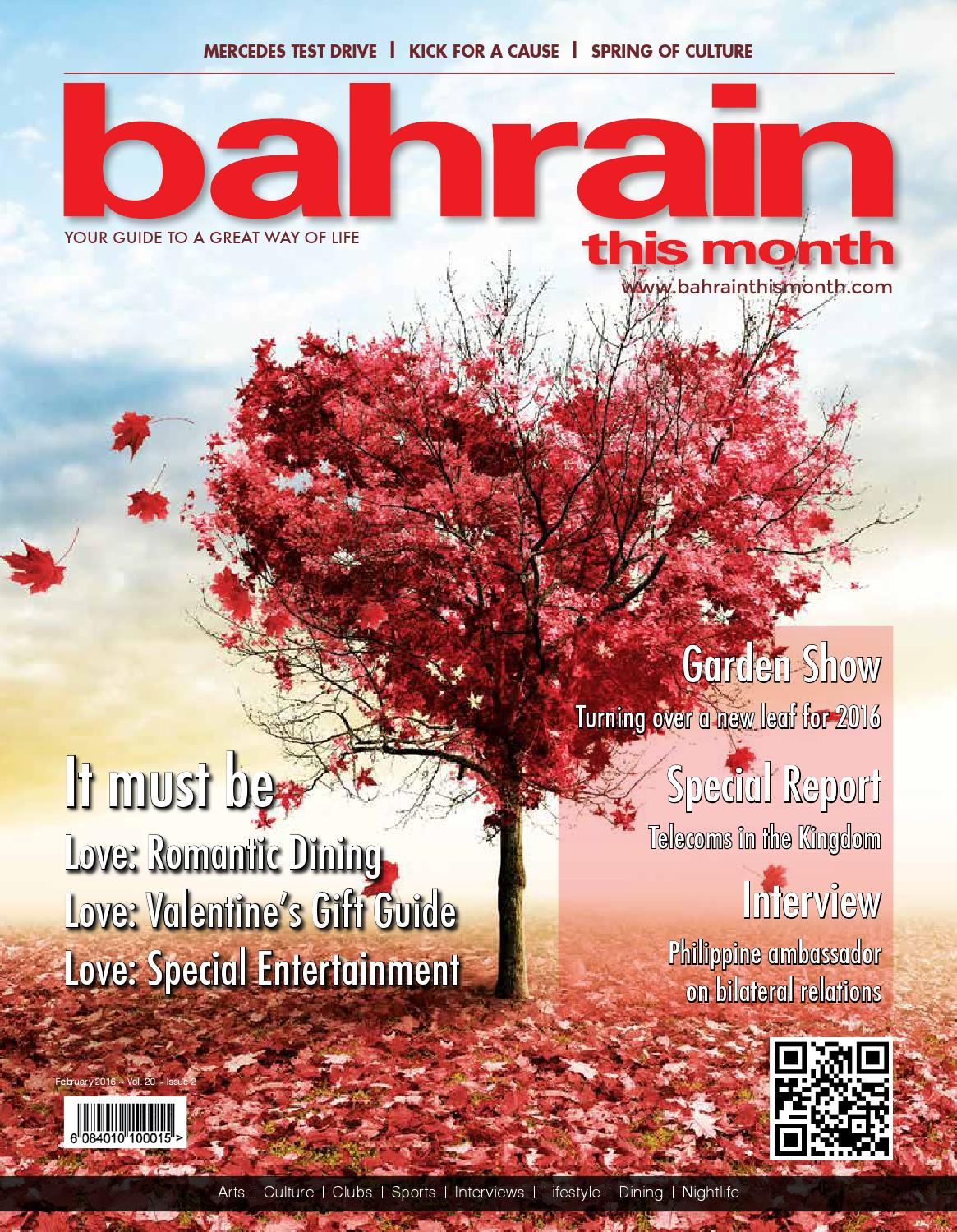 Bahrain This Month February 2016 By Red House Marketing Issuu