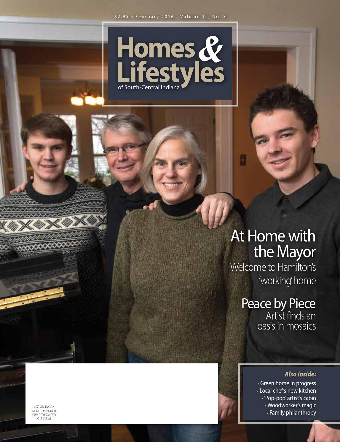 Homes & Lifestyles of South-Central Indiana by Hoosier Times Inc ...