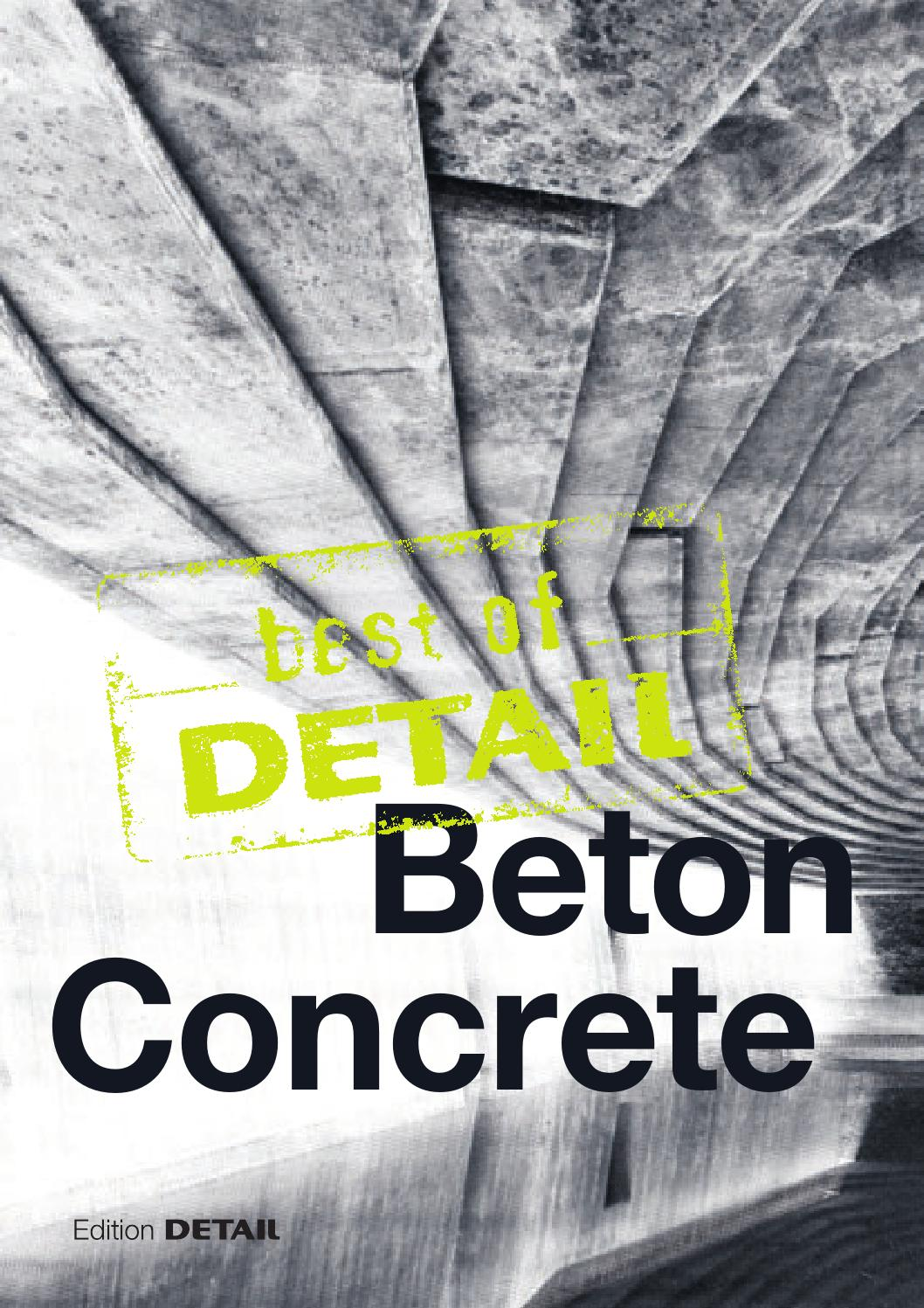 best of DETAIL Concrete by DETAIL - issuu