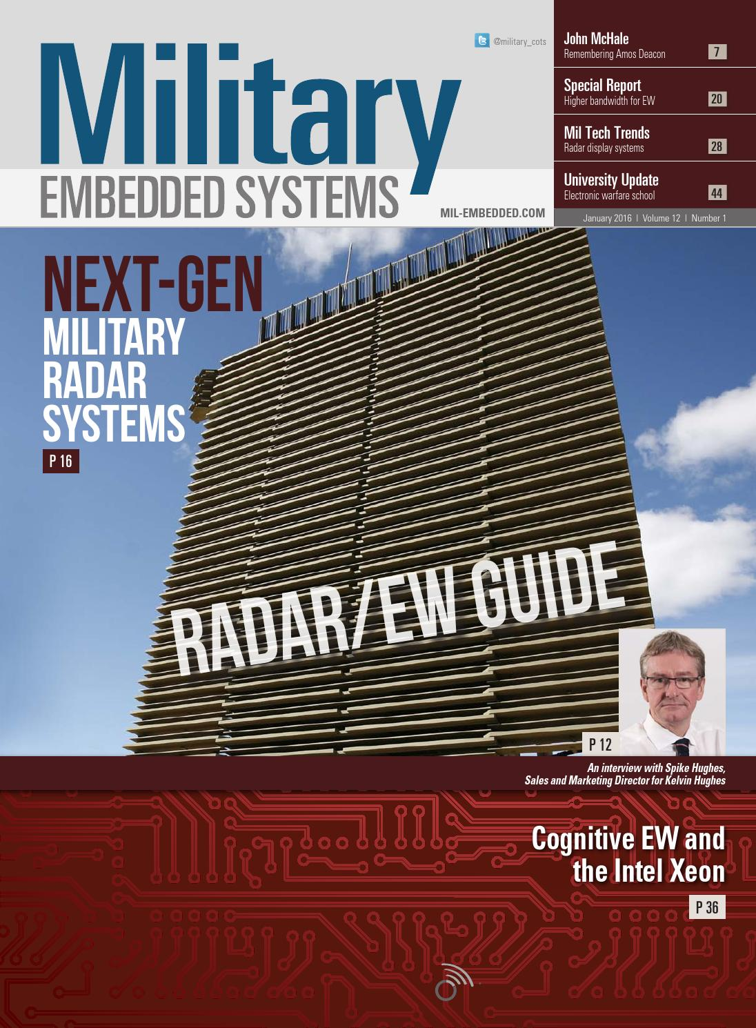Military Embedded Systems January 2016 By Opensystems Media Issuu Rover Mems Wiring Diagram