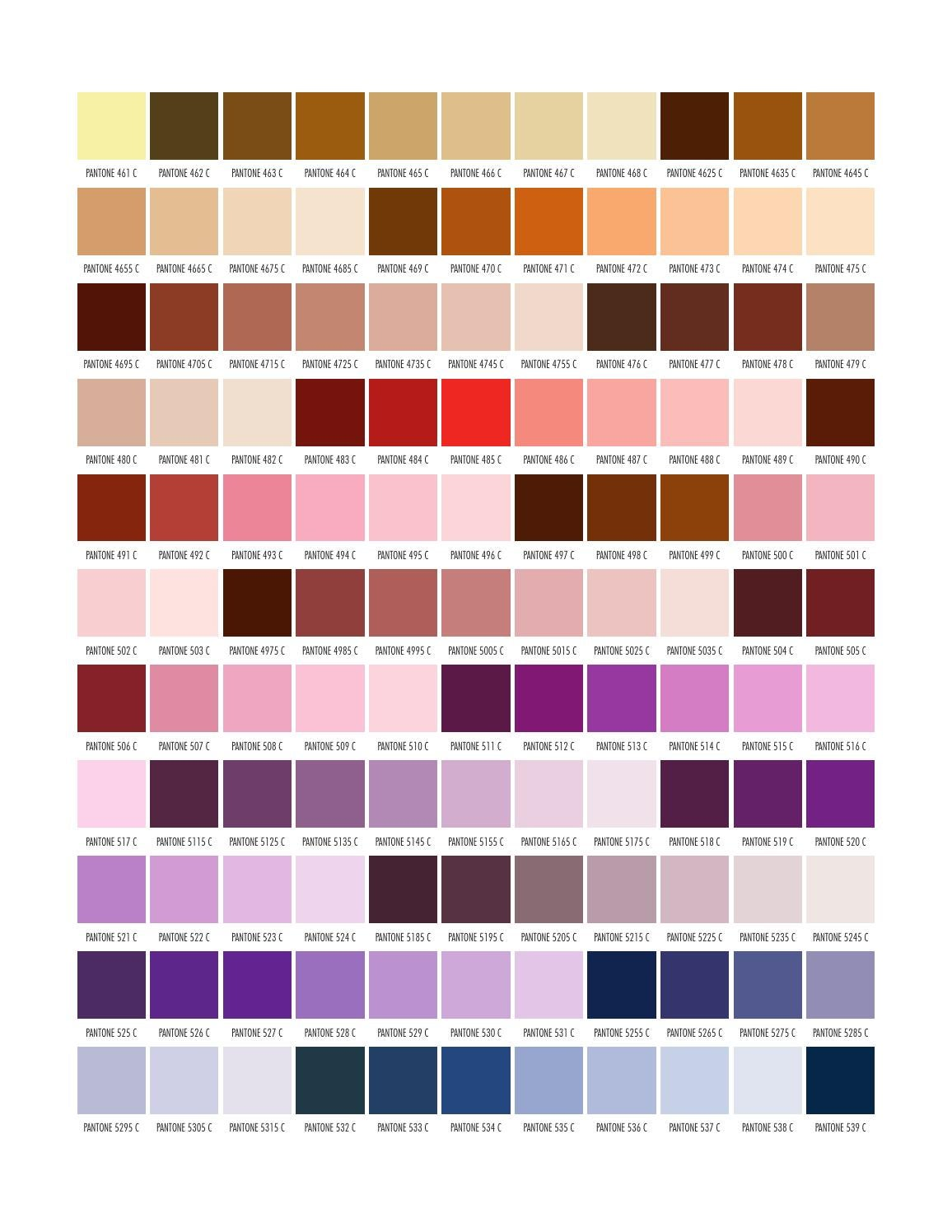 Pantone by marvasol - issuu