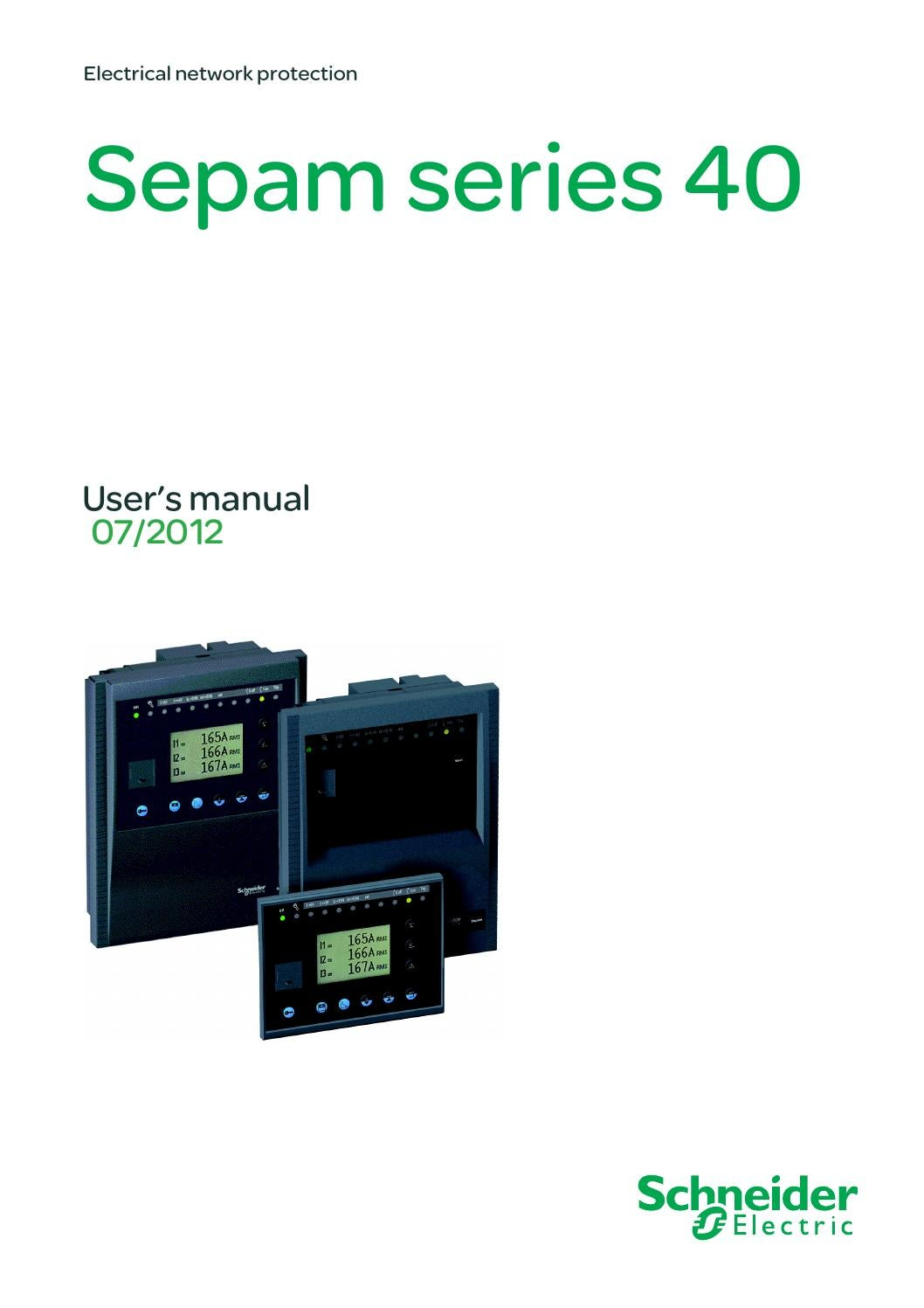 Catalog Sepam Seria  By Cotirla Ion Madalin Issuu - Neutral displacement relay working principle