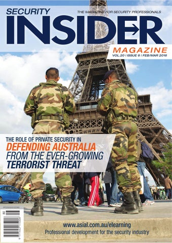 Security Insider February/ March 2016 by ASIAL - issuu