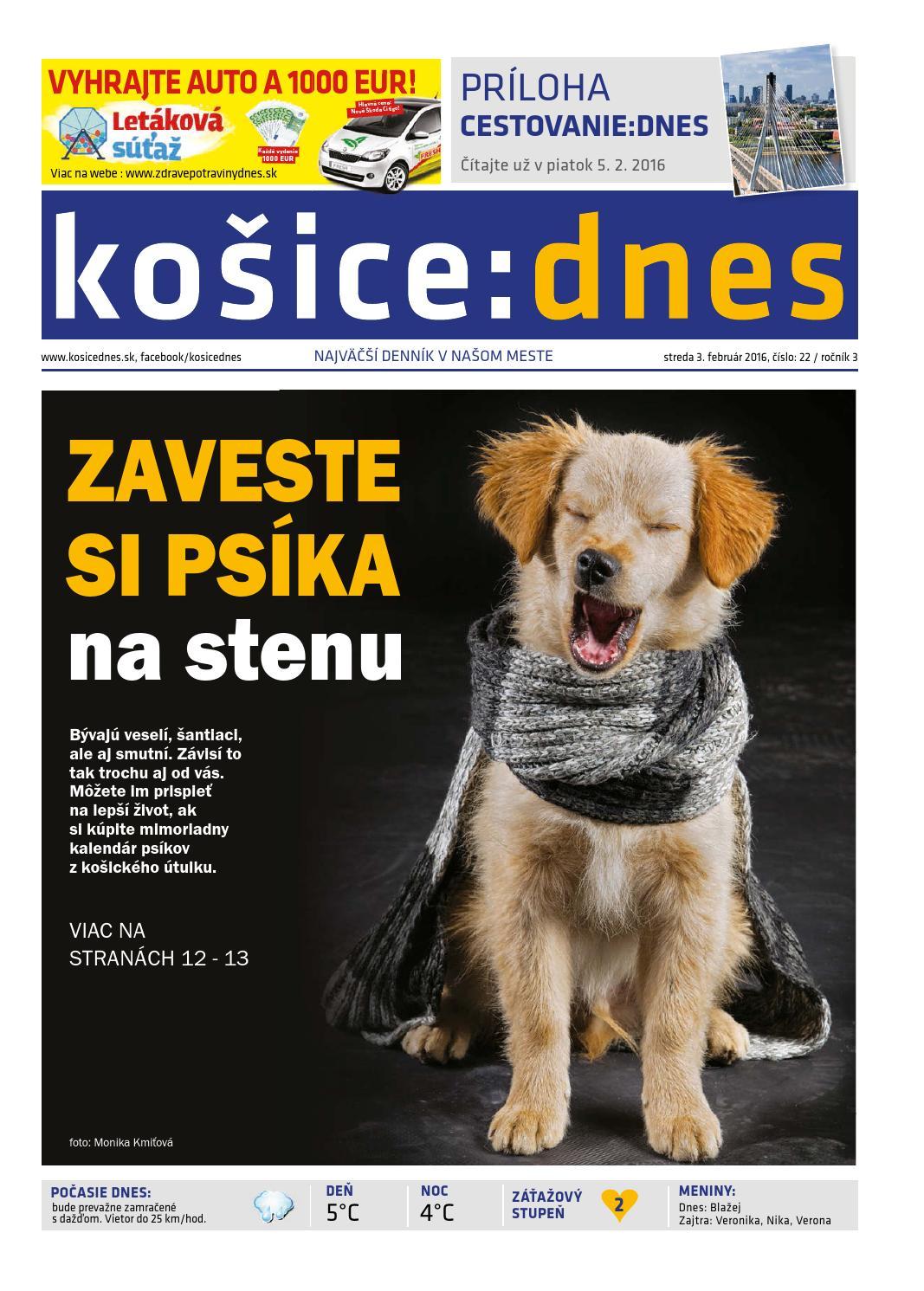 f2ebdc7e5701 košice dnes 3.2. 2016 by KOŠICE DNES - issuu