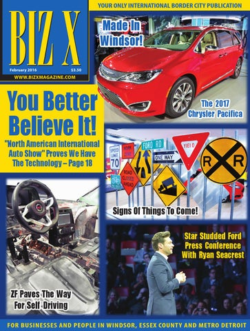 Biz X Magazine February 2016