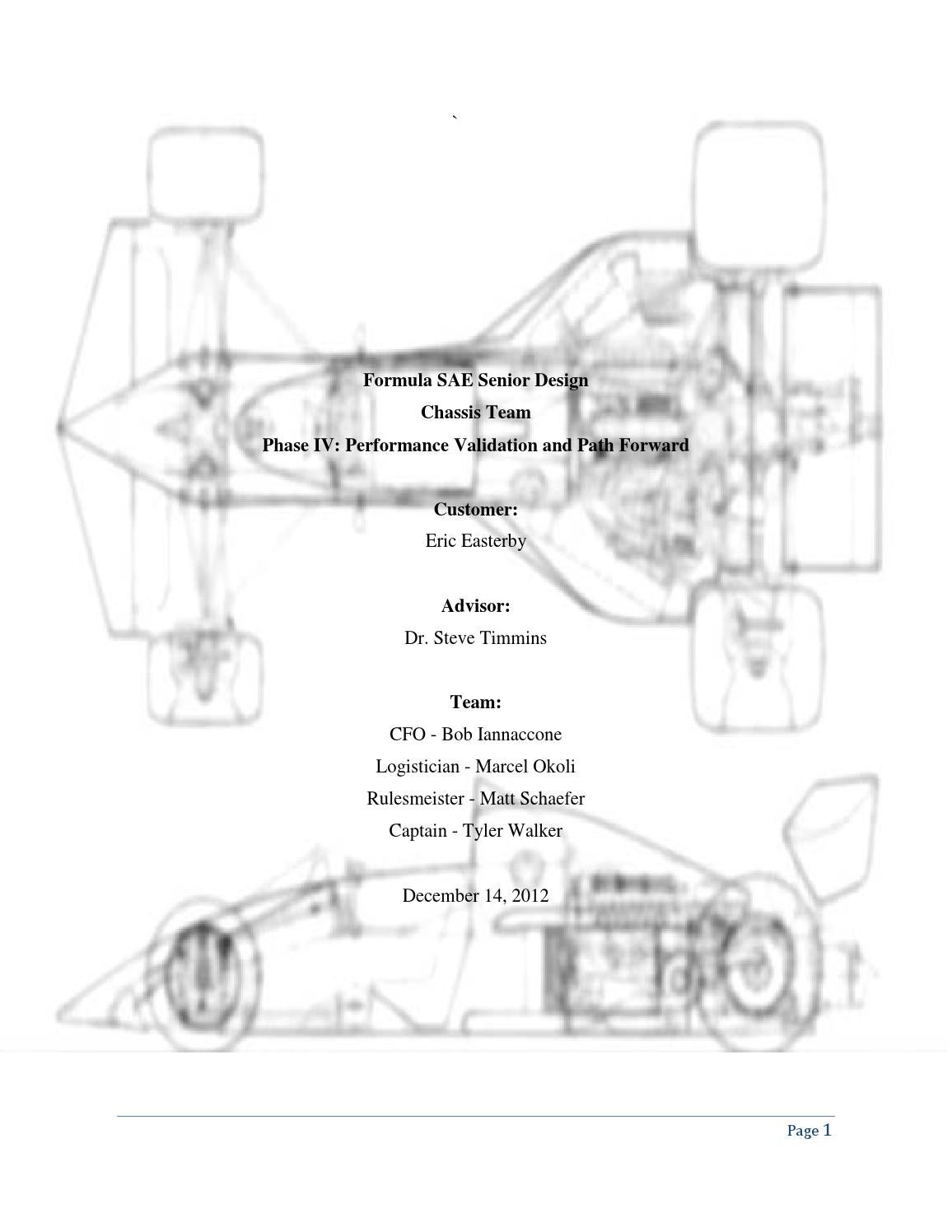 Fsae Chassis Design And Manufacturing By Marcel Okoli Issuu