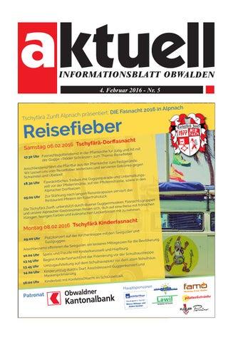 Aktuell Obwalden 05-2016 by Aktuell Obwalden AG - issuu