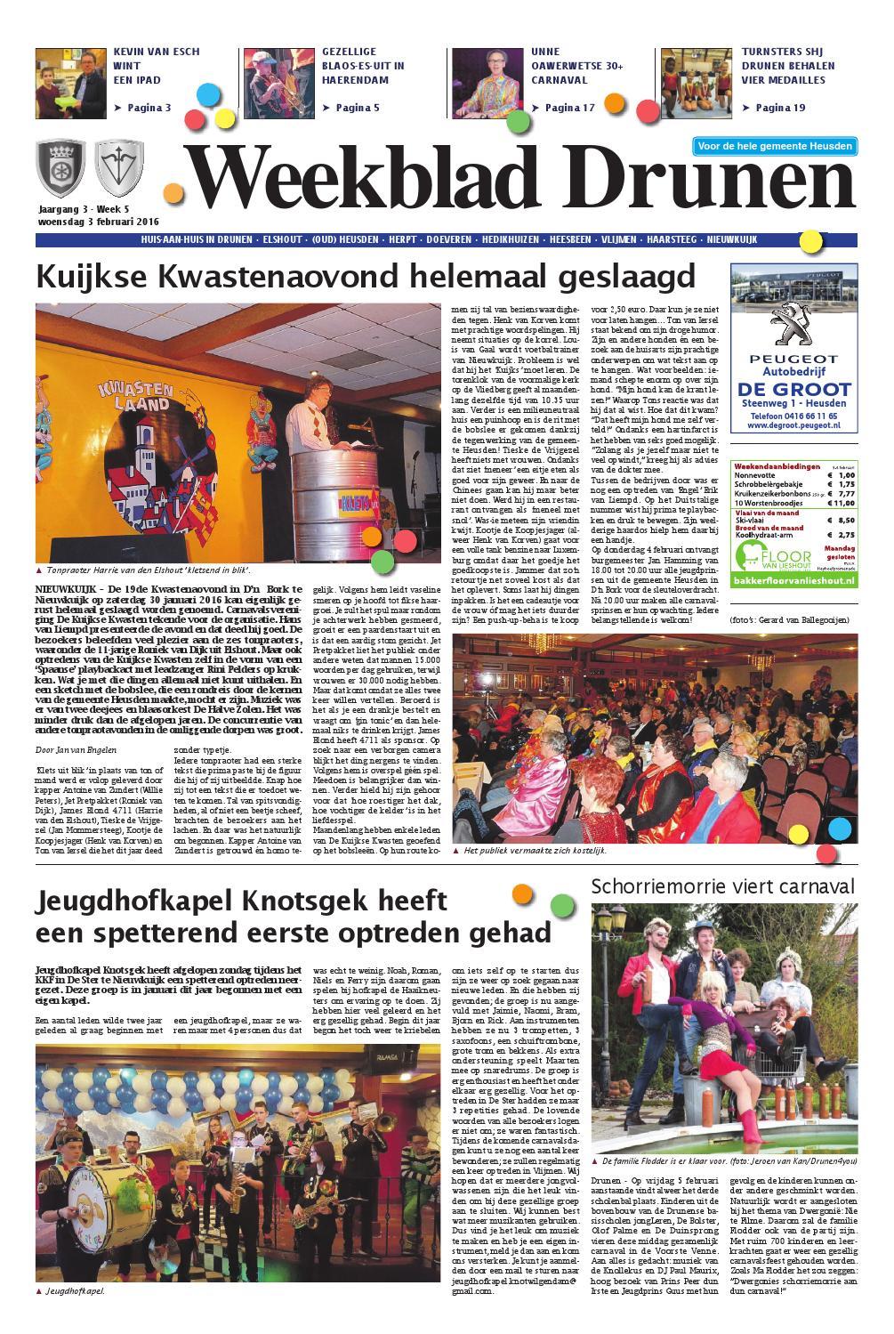 Loodveter 100 Gram.Weekblad Drunen 03 02 2016 By Uitgeverij Em De Jong Issuu