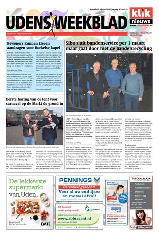 ea3af9d3d88 Udens Weekblad week 05 2016 by Uitgeverij Talvi - issuu