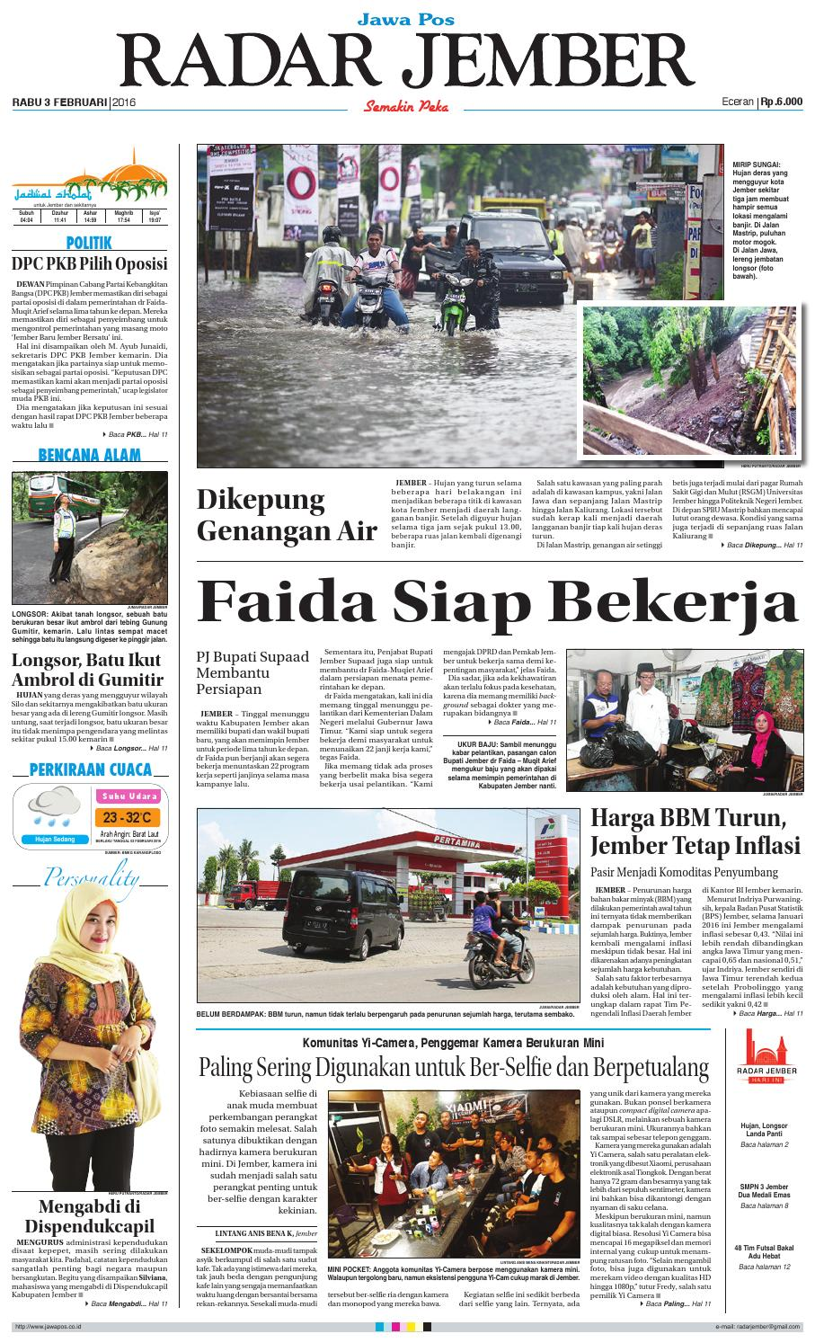 jember 020216 rj by radar jember online issuu