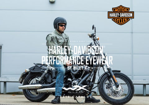 HARLEY-DAVIDSON Wiley X Gravity LA Light Adjusting Motorrad Brille