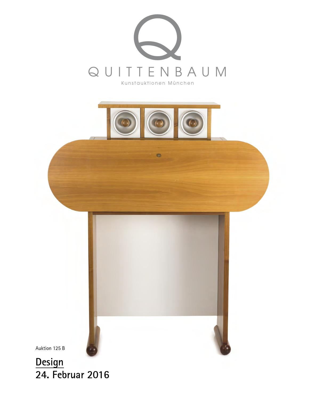 Auction 125 B | DESIGN | Quittenbaum Art Auctions