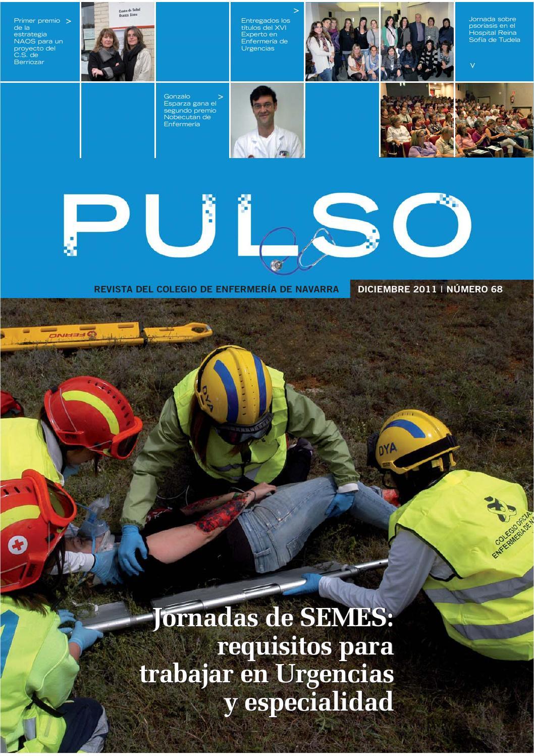 Pulso 68 by Colegio de Enfermería de Navarra - issuu