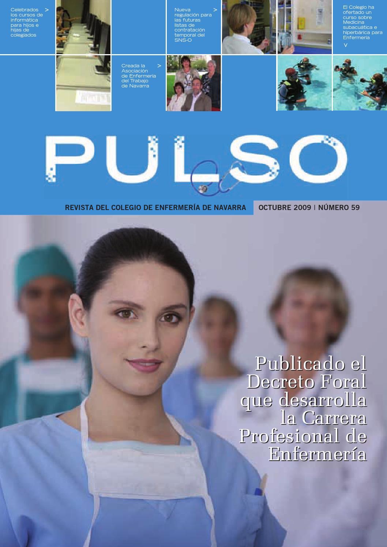 Pulso 59 by Colegio de Enfermería de Navarra - issuu