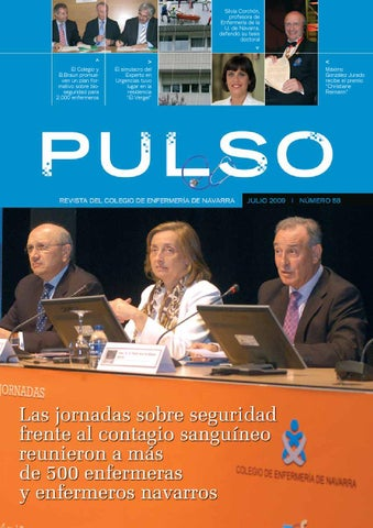 Pulso 58 by Colegio de Enfermería de Navarra - issuu