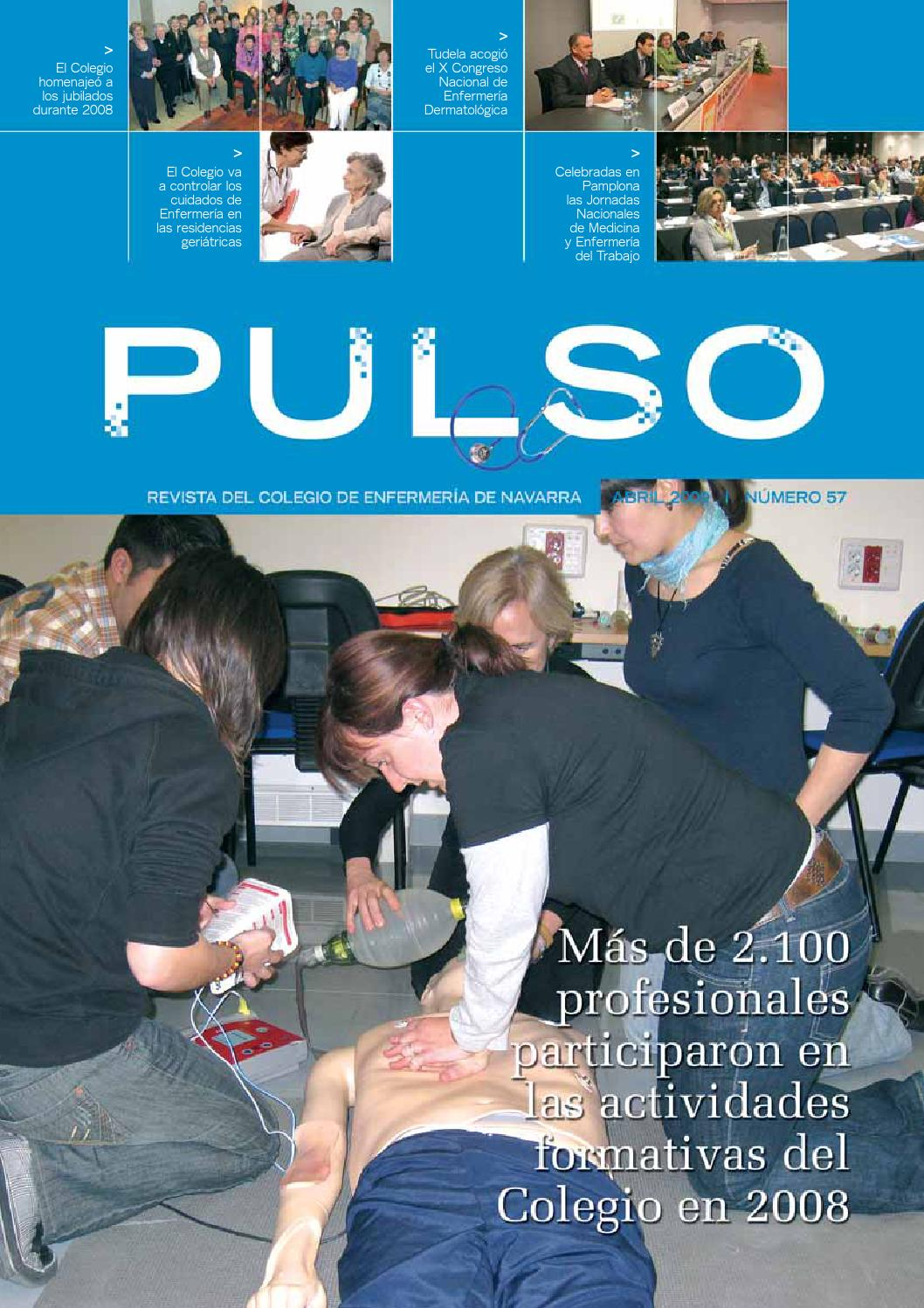 Pulso 57 by Colegio de Enfermería de Navarra - issuu