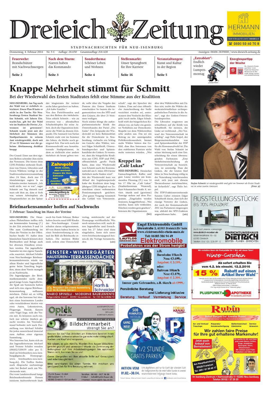 Dz online 005 16 c by Dreieich-Zeitung/Offenbach-Journal - issuu
