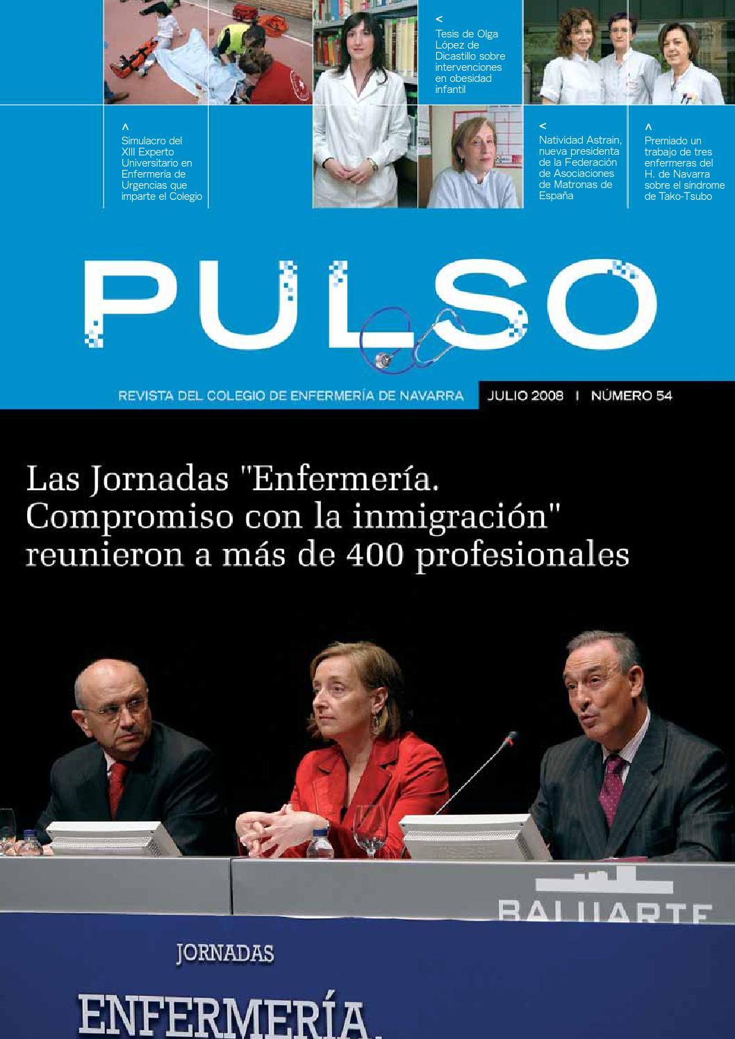 Pulso 54 by Colegio de Enfermería de Navarra - issuu