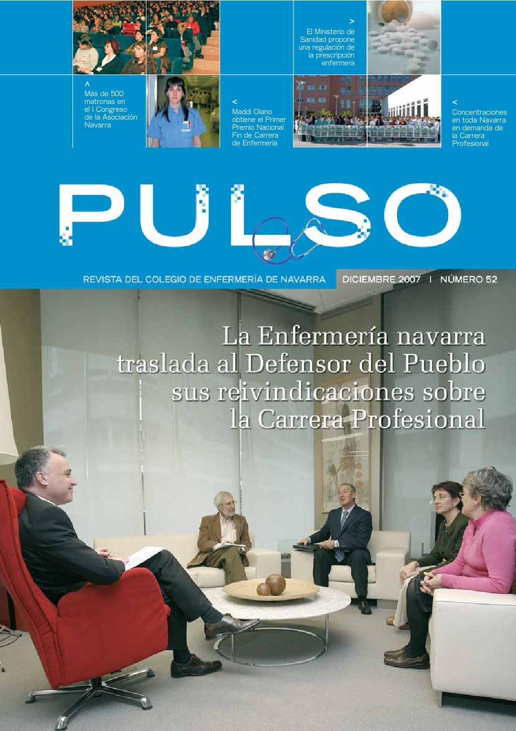 Pulso 52 by Colegio de Enfermería de Navarra - issuu