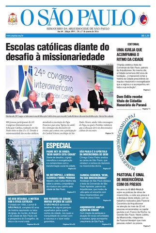 O SÃO PAULO - Josp 3085 by jornal O SAO PAULO - issuu 2a854e02c5