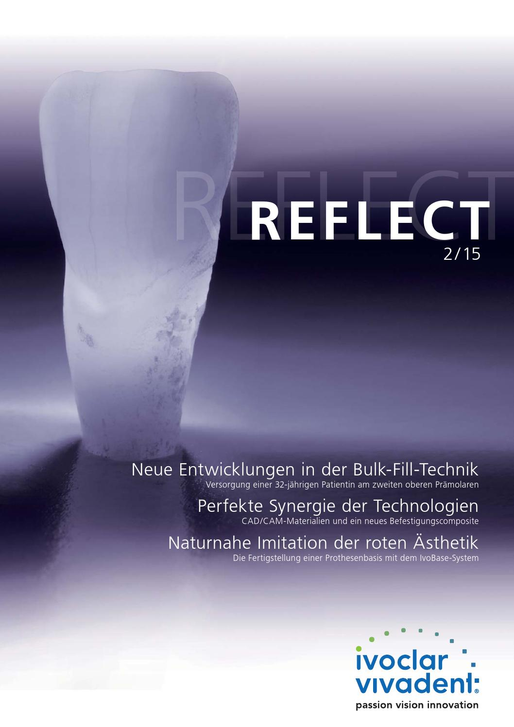 Reflect 2-2015 German by Ivoclar Vivadent - issuu