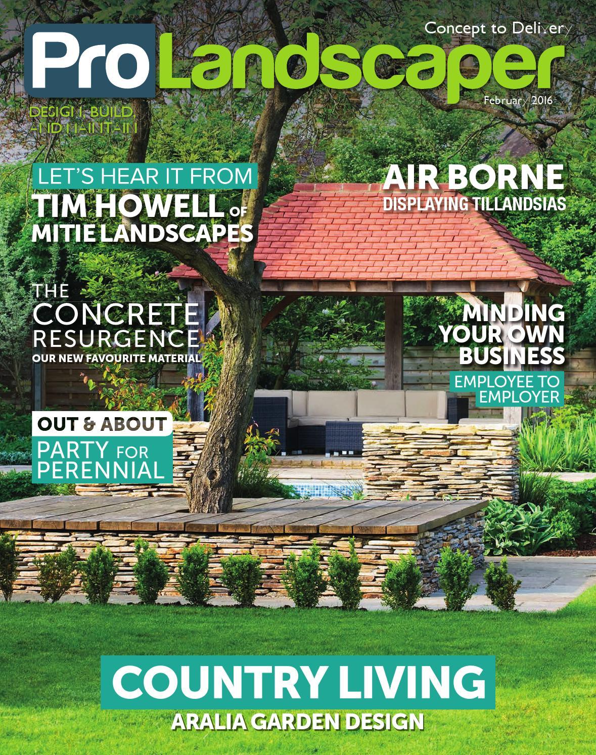 4377a266daa13 Pro Landscaper February 2016 by Eljays44 - issuu