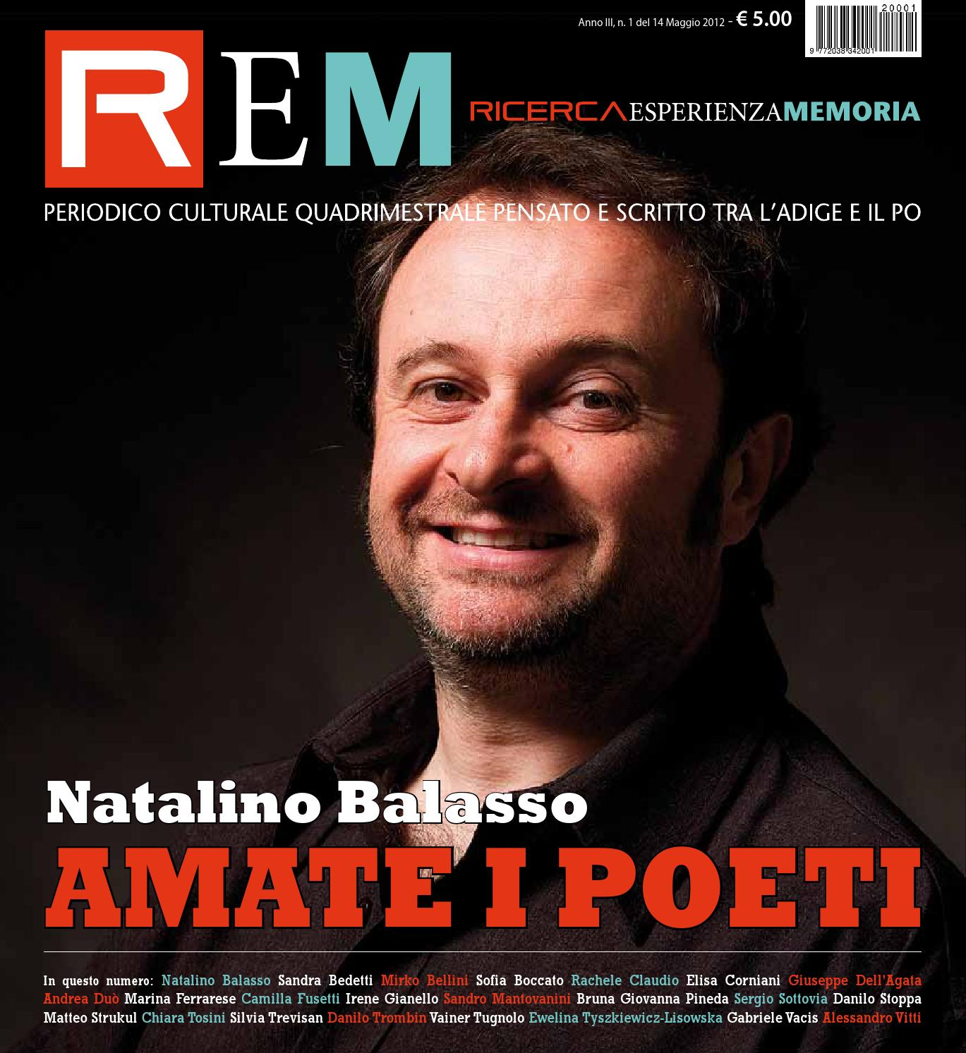 REM Anno III n 1 del 14 maggio 2012 Amate i poeti by Paolo Spinello issuu