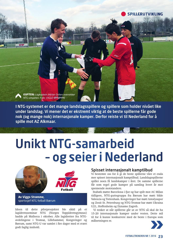 ffe6d060 Fotballtreneren #1 2016 by DMT AS - issuu
