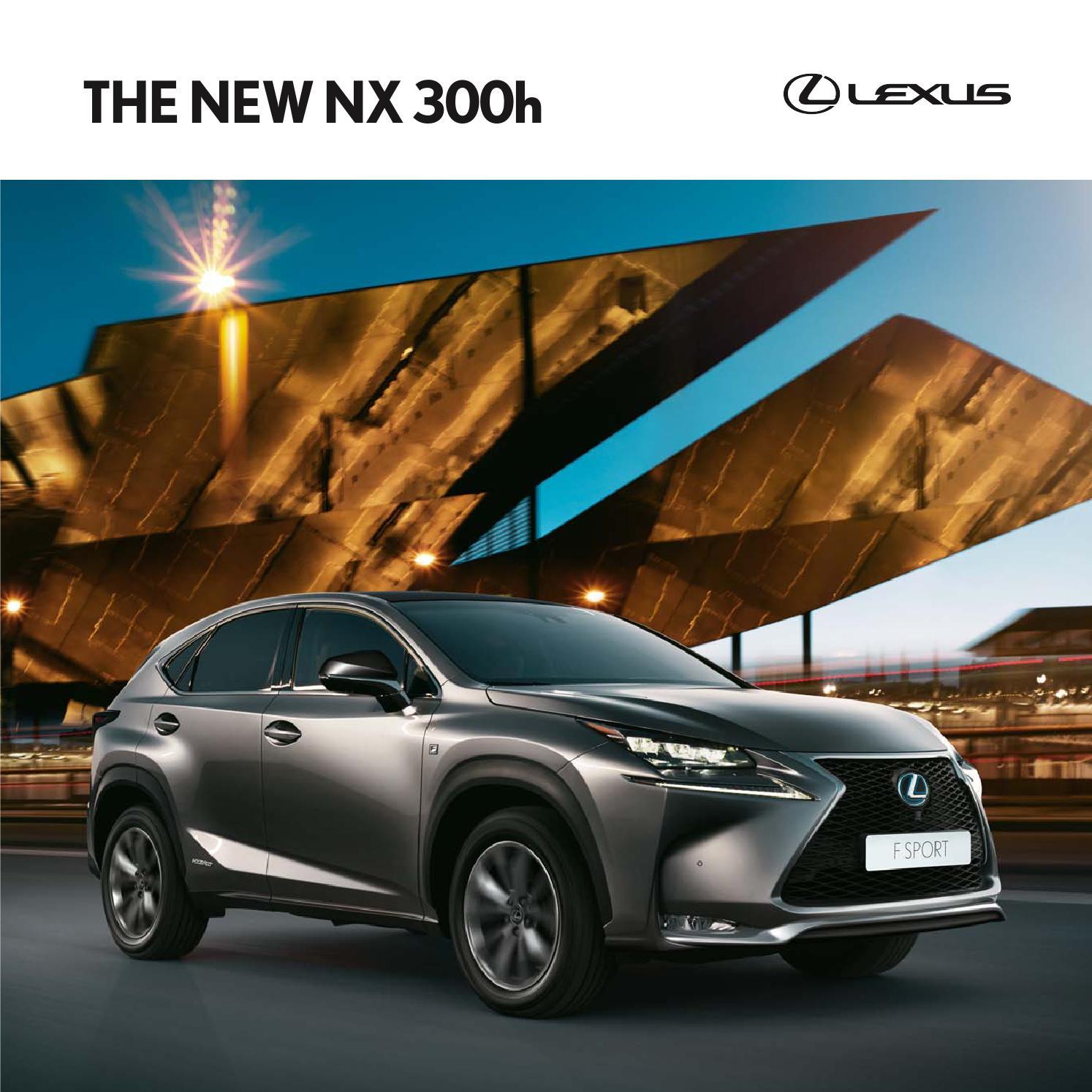 Lexus Nx300h Price: 16my Nx Mb Hybrid By Lexus Europe
