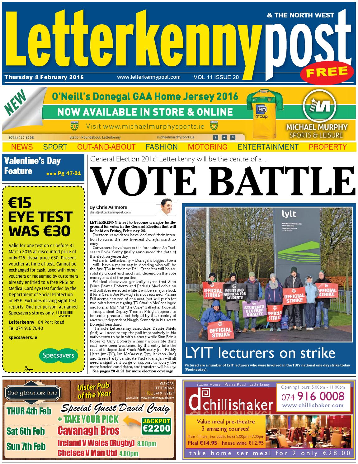 Letterkenny Post 4 02 16 By River Media Newspapers Issuu