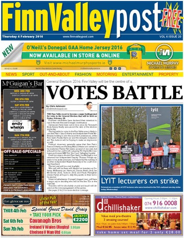 Finn valley post 4 02 16 by River Media Newspapers - issuu