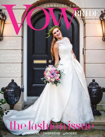37ac44d22af VOW Bride Spring Summer 2016 by Vow Bride - issuu