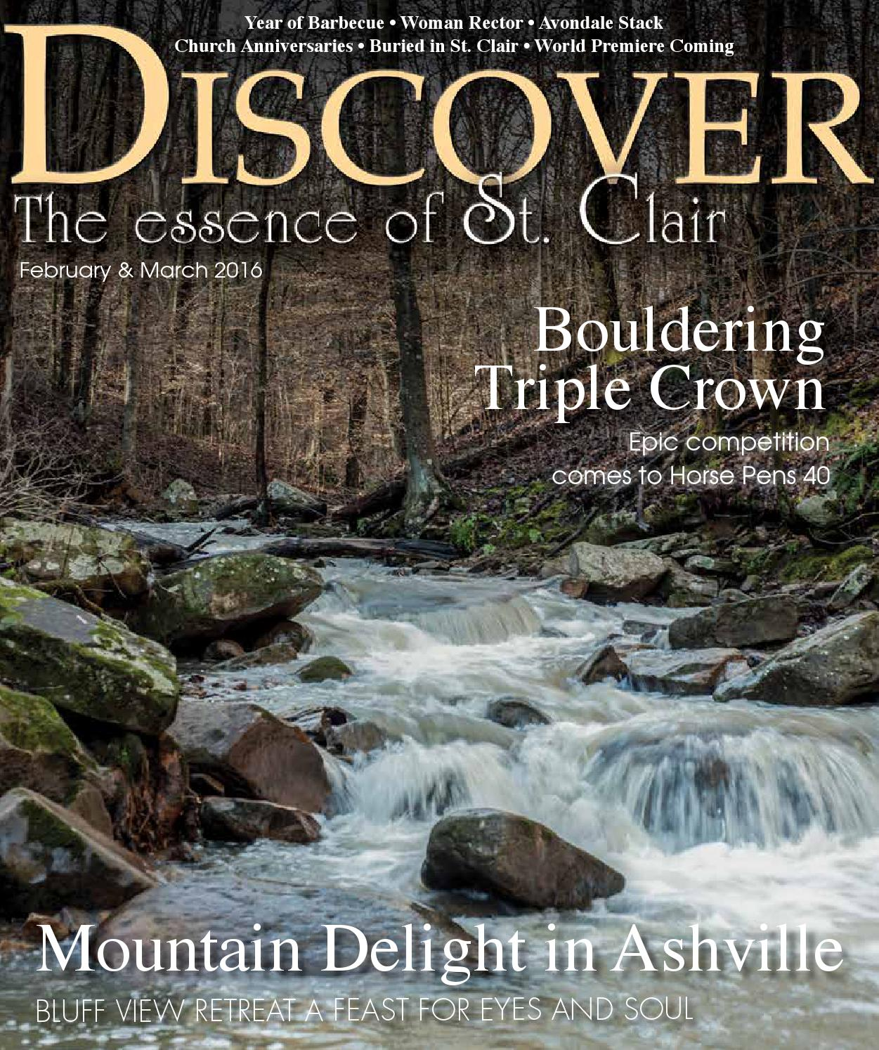 Alabama saint clair county odenville - Discover St Clair February March 2016 By Discover The Essence Of St Clair Issuu