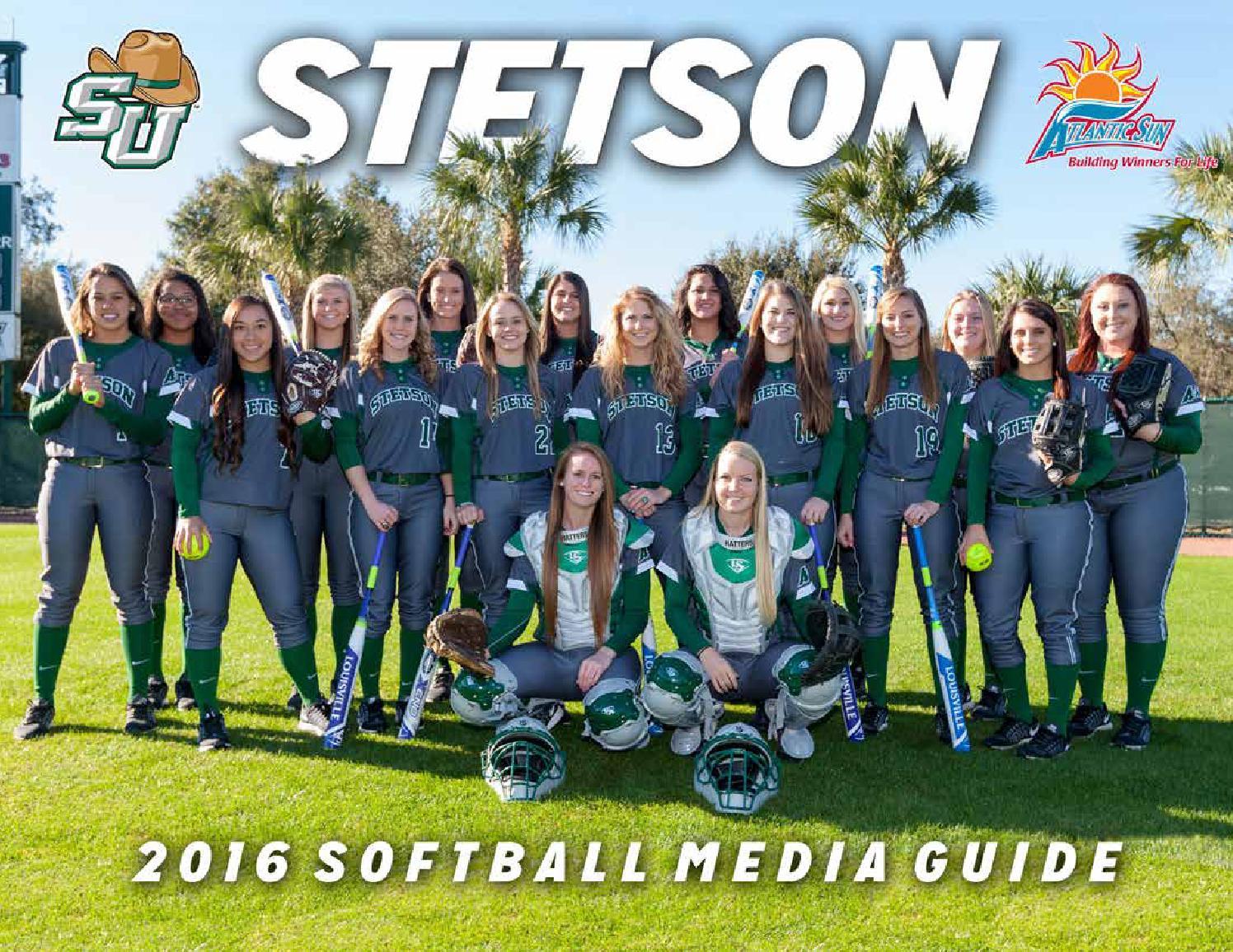 d3e228d8 2016 Stetson Softball Media Guide by Stetson University Athletics ...