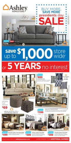 President S Day Sale By Ashley Furniture Homestore Of Laredo Issuu
