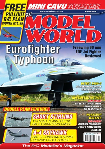Radio controlled model world march 2016 by Traplet