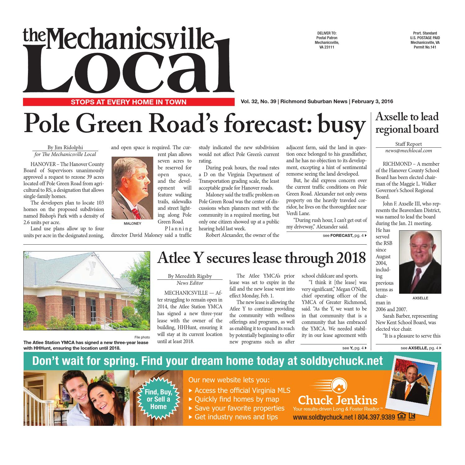 02 03 16 by The Mechanicsville Local issuu