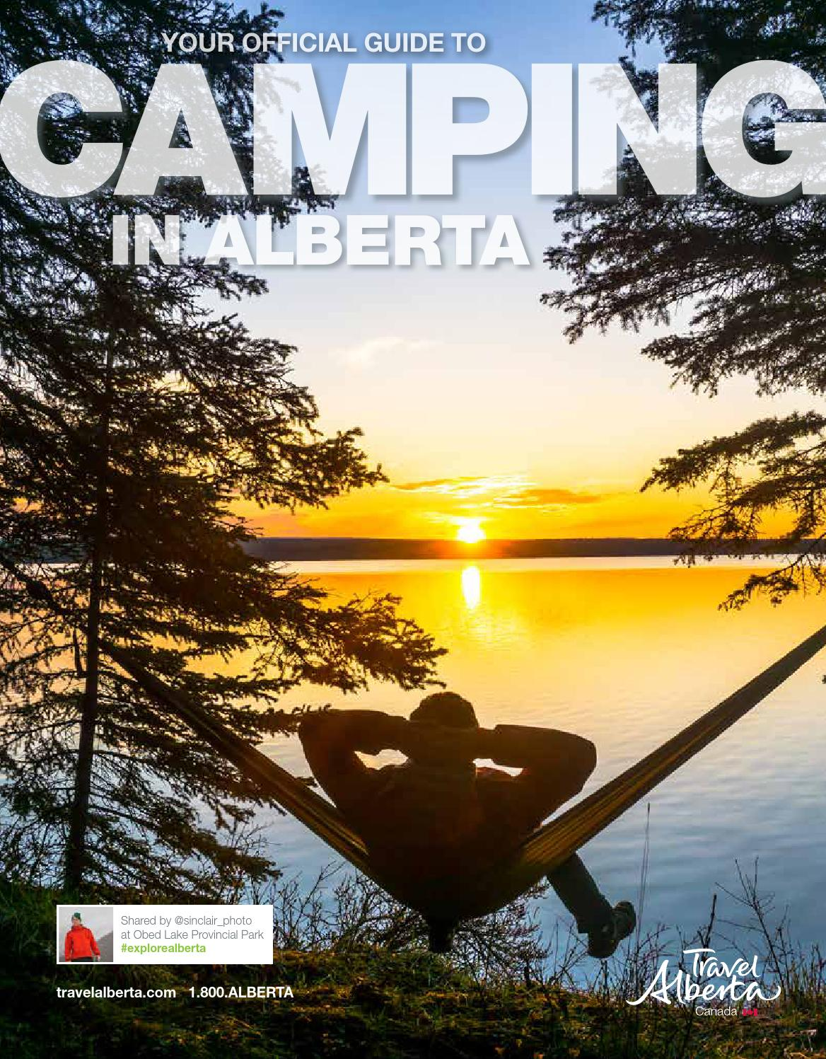 Camping in alberta guide 2016 by