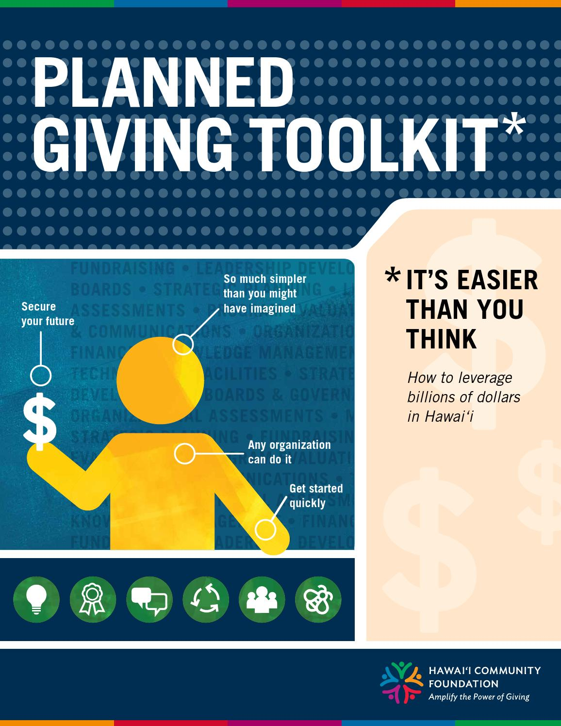 planned giving toolkit by hawaii community foundation issuu - Sample Planned Giving Letters