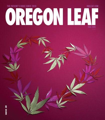 Oregon Leaf - February 2016 by Northwest Leaf / Oregon Leaf / Alaska