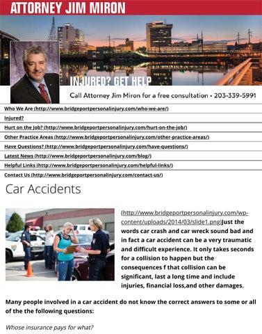 Bridgeport car accident lawyer| auto accident attorney
