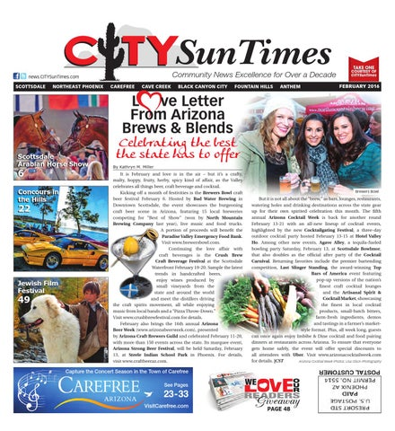 North Valley February 2016 Issue of CITYSunTImes by Jenifer