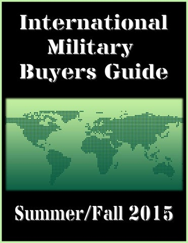 International Military Buyers Guide By Federal Inc