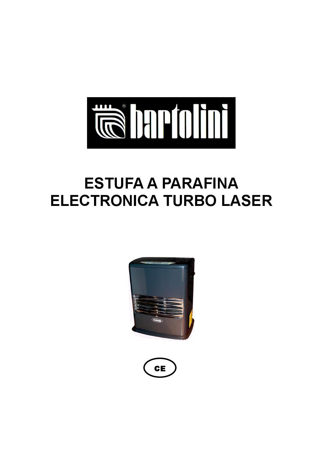 Manual bartolini takana airtek sensomed by carlos aburto - Estufa parafina electronica ...