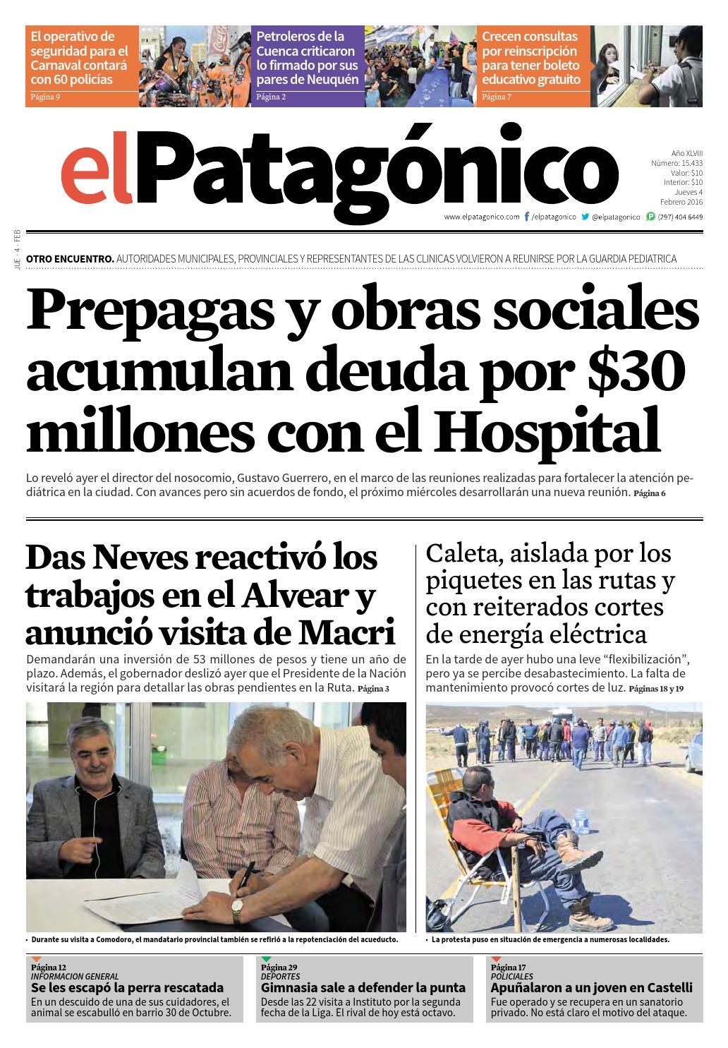 edicion232403022016.pdf by El Patagonico - issuu