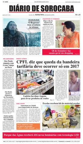 40a3c29b1d Edição de 04 de fevereiro de 2016 by DIÁRIO DE SOROCABA - issuu