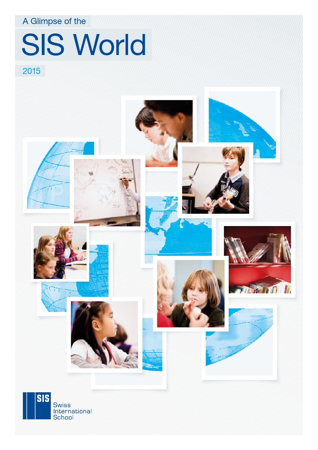 SIS World CH 2015 by SIS Swiss International School Schweiz - issuu