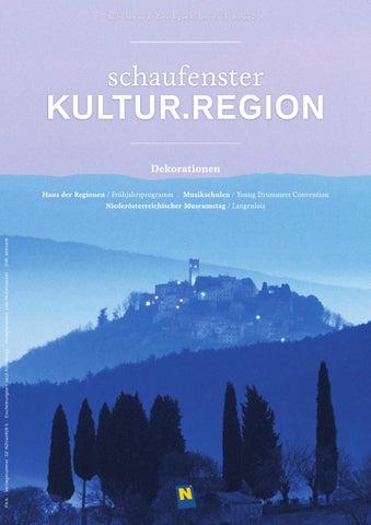 Schaufenster Kultur.Region Februar 2016 by Museumsmanagement ...
