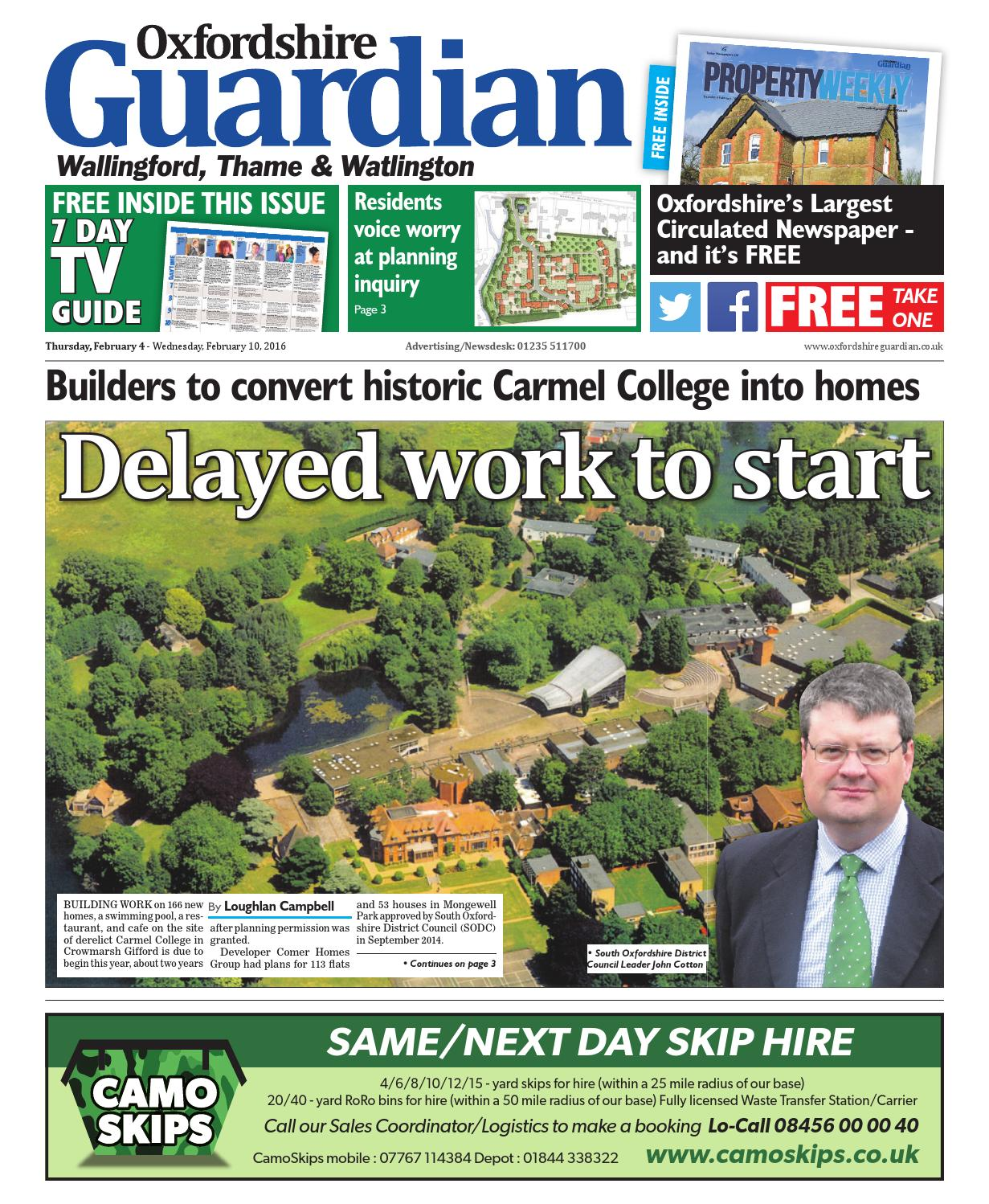 a152e1603 4 february 2016 oxfordshire guardian wallingford by Taylor Newspapers -  issuu
